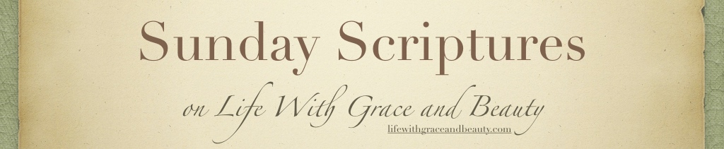 Sunday Scriptures - Cover